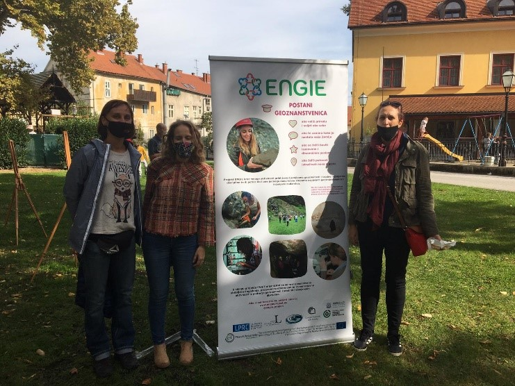 "ENGIE at the event ""Treasure under our feet"""