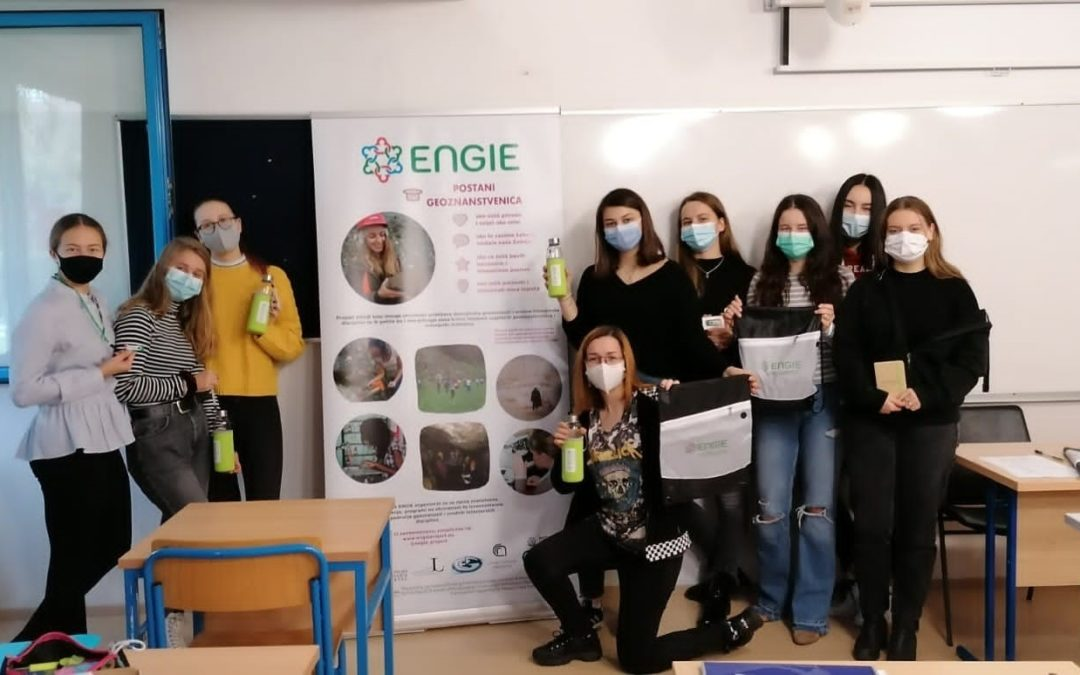 Promotion of the ENGIE project in Zagreb, XV. Gymnasium