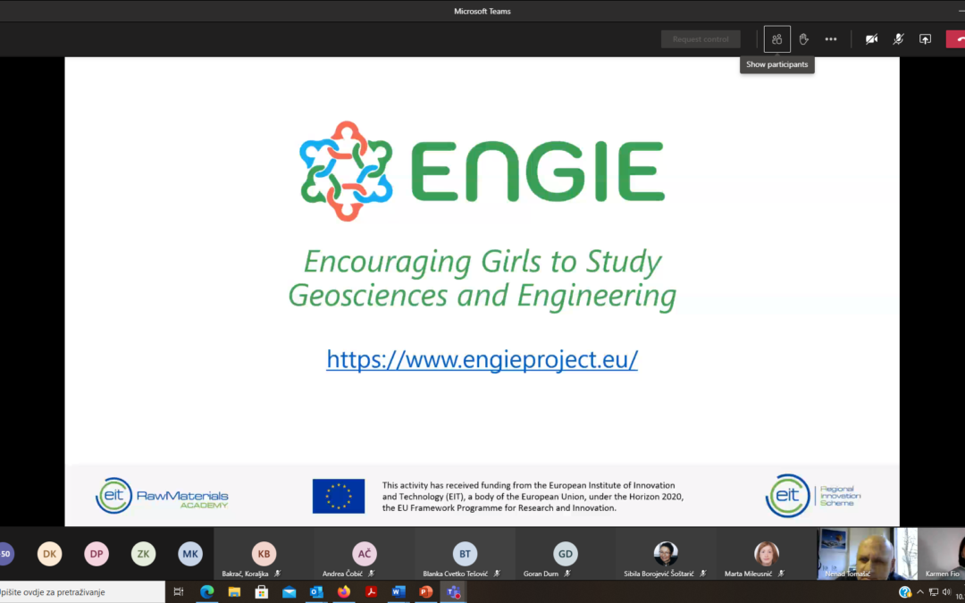 Promotion of ENGIE at the annual meeting of the Croatian Geological Society