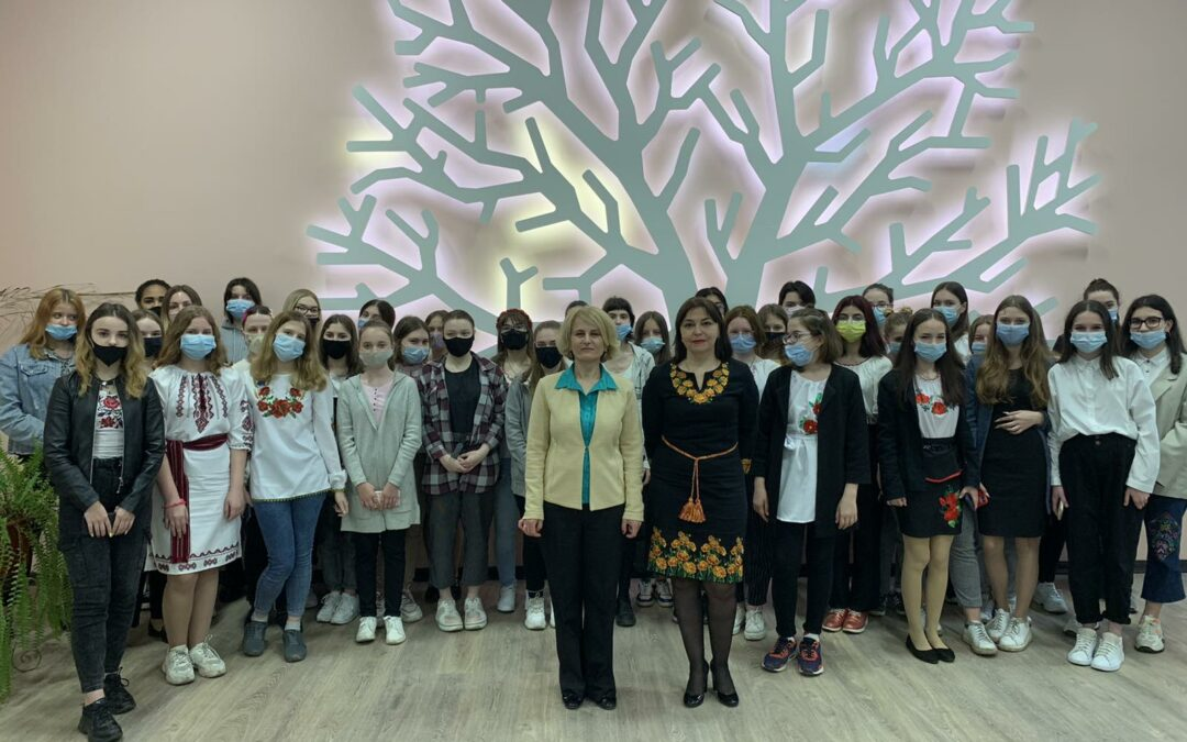 The Ukrainian Association of Geologists leading girls to the future of geoscience